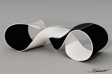 black white futuristic couch futuristic furniture discovery coffee table svilen