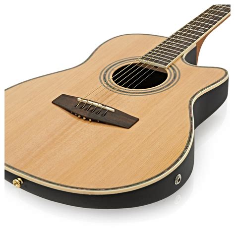 Gitar Gibson Slim Akustik roundback electro acoustic guitar by gear4music at