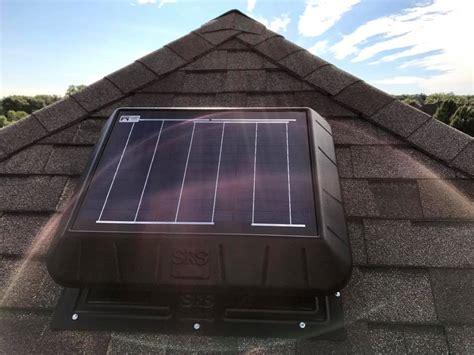 solar attic fan reviews rand solar powered attic gable fan 100 natural light solar
