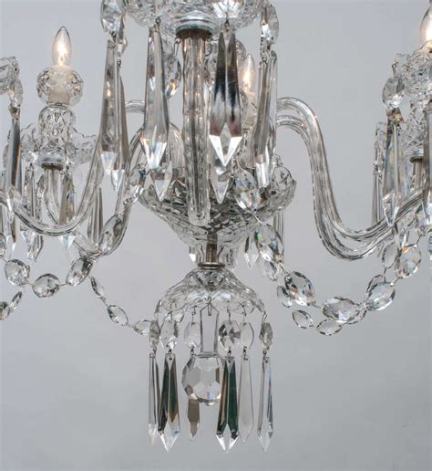 Waterford Chandeliers Waterford Six Light Chandelier Circa 1970 At 1stdibs