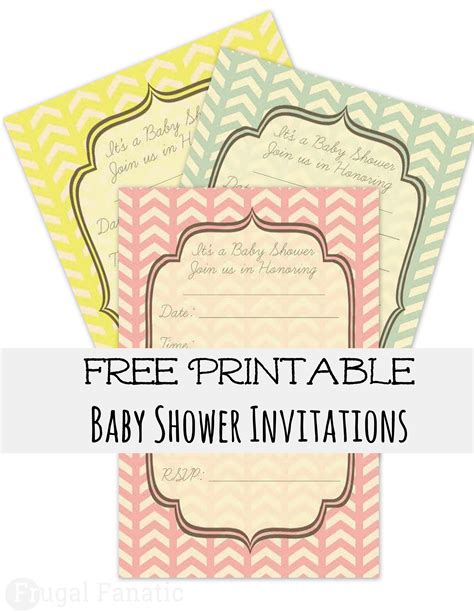 most popular free printable baby shower invitations on this year theruntime