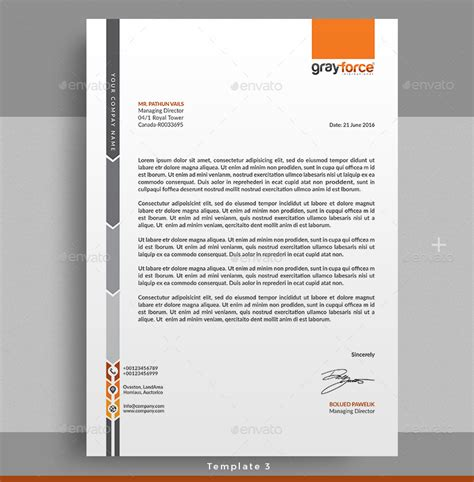 letterhead by themedevisers graphicriver