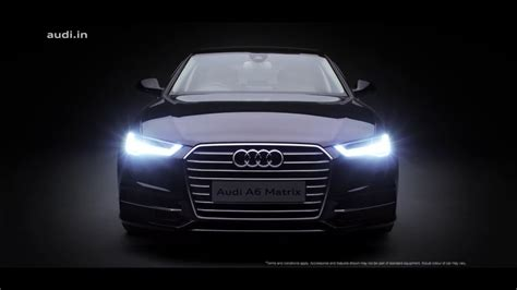 audi ads the 2016 audi a6 matrix engineered intuition