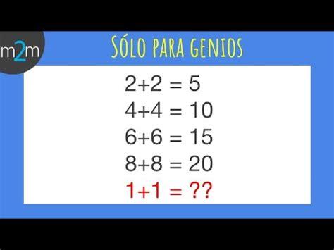 preguntas inteligentes para pensar s 211 lo para genios 1 acertijos youtube