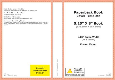 Creating A Cover For Your Book Talking Of Writing Createspace Book Cover Template