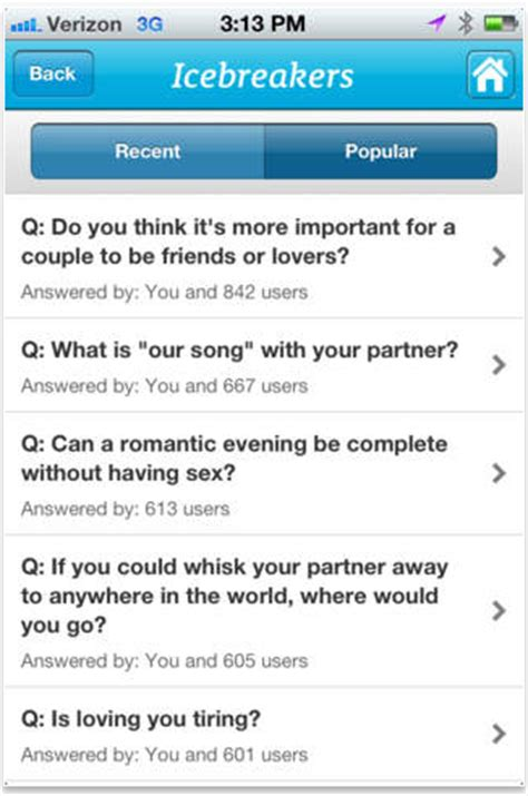 Icebreaker App For Couples 10 Apps For Couples