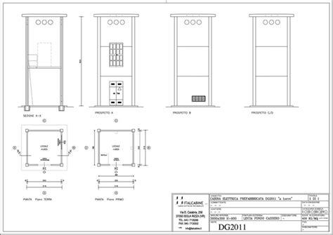 cabina elettrica dwg cabine elettriche a torre progettazione realizzazione e
