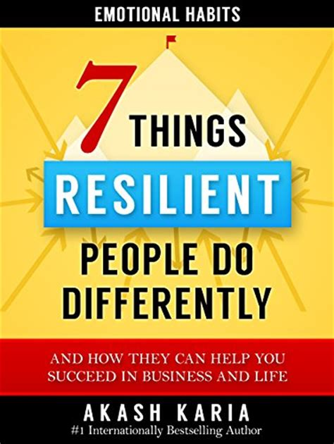 99 things you can do with radio books emotional habits the 7 things resilient do