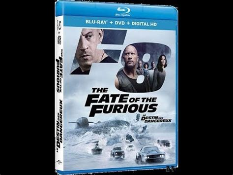 fast and furious 8 blu ray passion blu ray dvd fast and furious 8 chronique youtube