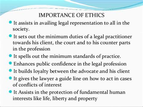 professional ethics presentation