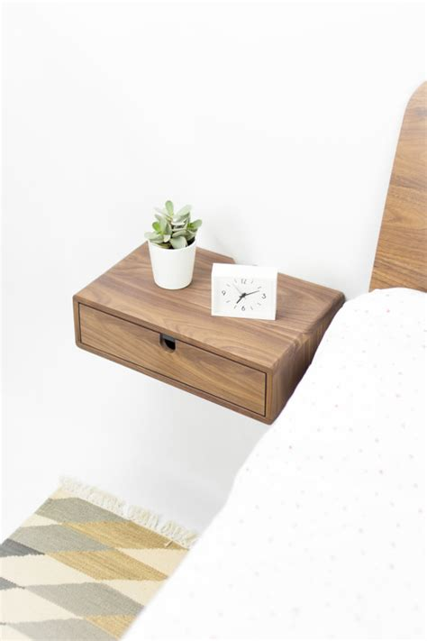 floating nightstand with drawer diy floating nightstand with drawer home design ikea diy mamak