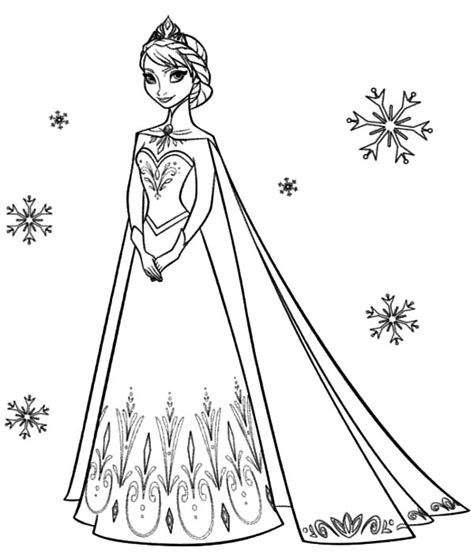 queen elsa and princess anna coloring pages queen elsa coloring page princess anna beautiful pages on