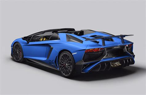 Lamborghini The Lamborghini Aventador Lp 750 4 Superveloce Roadster Mr