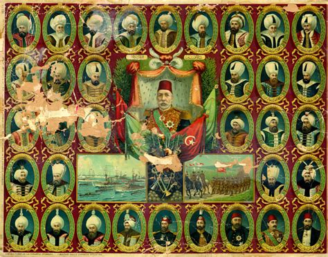 Sultan Of The Ottoman Empire File Sultans Of The Ottoman Dynasty Jpg Wikimedia Commons