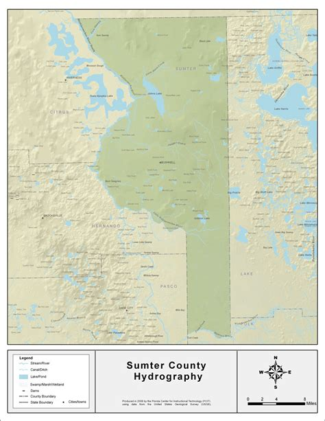 Sumter County Fl Search Florida Waterways Sumter County 2008