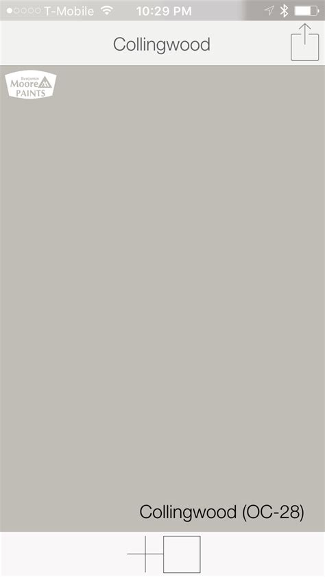 warm gray paint colors from benjamin collingwood oc