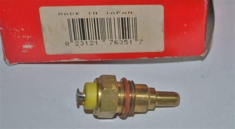 Switch Fan Radiator Corolla radiator fan switch toyota corolla 1974 1975 1976 1977 1978 1979 thermo fan