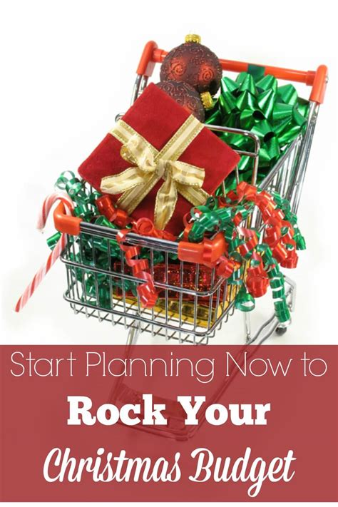 christmas is sorted now start start planning now to rock your christmas budget