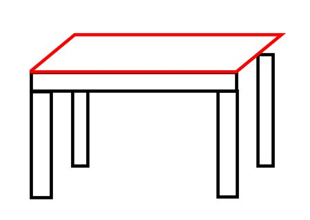 How To Draw A Desk Step By Step by Drawing A Table