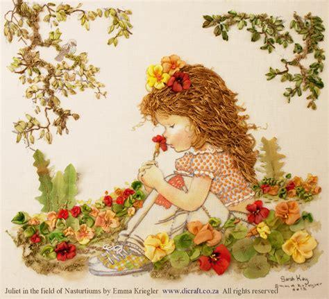 sarah kay designs for silk ribbon embroidery di van niekerk