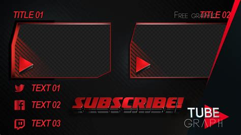 Scary Outro Card Template by Movegraph On Quot Free Template End Card Outro In