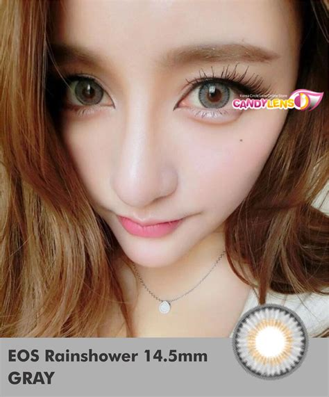 Softlens Geo 14 Mm Murah softlens eos rainshower gray 14 5mm softlens