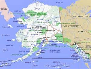 alaska poster dealers and travel map