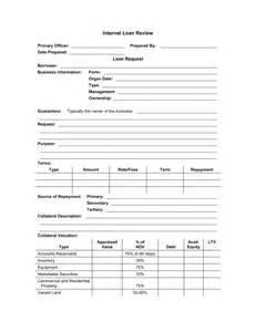 Design Review Document Template by Loan Application Review Form Template Sle Form