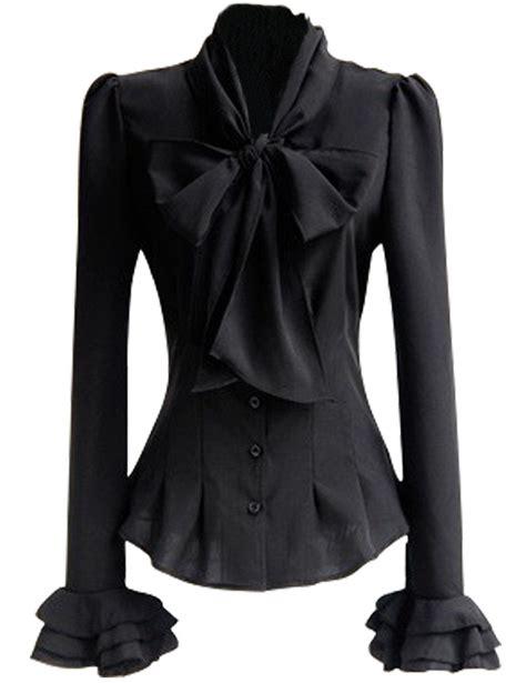 Tie Neck Sleeve Shirt mosocow s vintage bow tie neck sleeve shirt