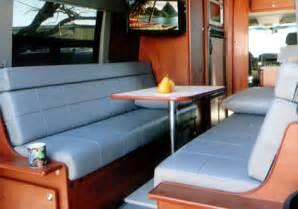 Ford Truck Bench Seats Sportsmobile Custom Camper Vans Seats Amp Beds