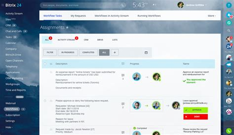 workflow opensource bitrix24 free cloud workflow software