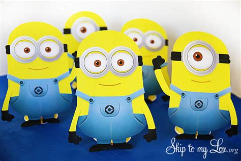minion card template free printable minions skip to my lou