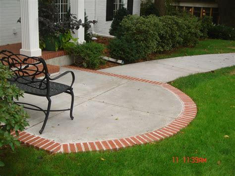 backyard concrete slab cost concrete patios a pietig concrete brick paving