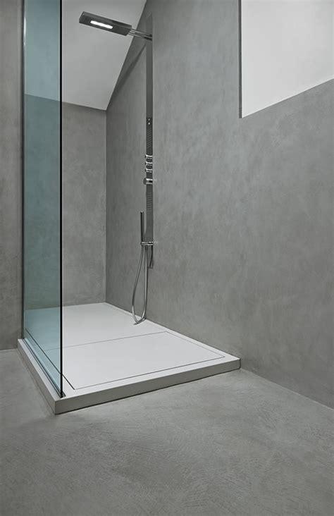 Beau Humidite Mur Salle De Bain #10: Douche_microtopping_idealwork.jpg