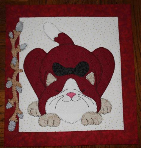 cat applique pattern wall hanging cat quilted applique wall hanging applique quilts