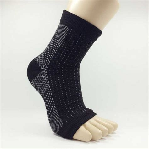 Comfort Foot Anti Fatigue Compression Sleeve Elastic S Socks foots socks anti fatigue compression ankle foot elastic swelling plantar relief ebay