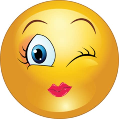 winking smiley face clipart clipart suggest image gallery kissy wink face