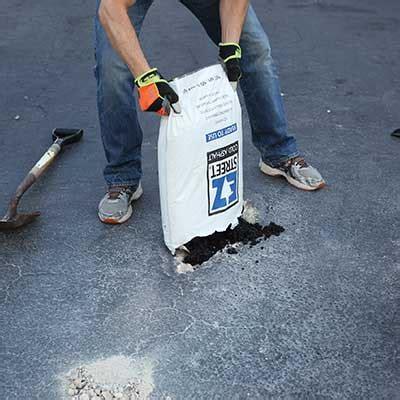 repair  pothole   driveway
