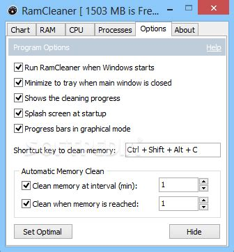 windows ram cleaner ramcleaner