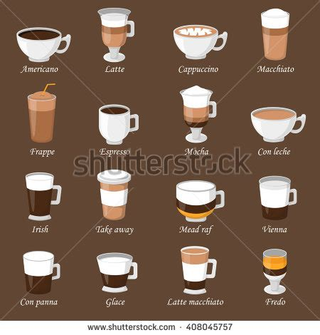 types of coffee mugs types of coffee mugs espresso stock photos images pictures