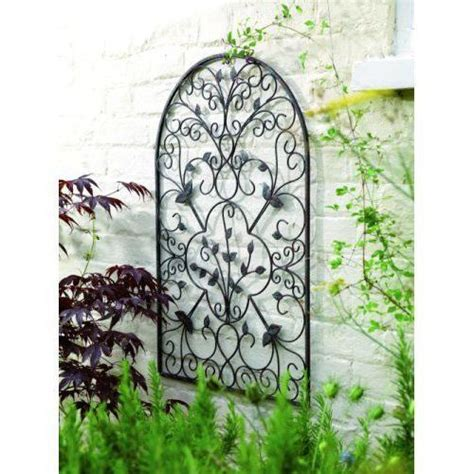 arched metal wall simple arched iron wall decor half
