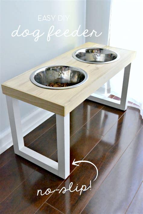 remodelaholic diy dog food bowl stand for small pups diy no slip dog feeder dog station nest and dog