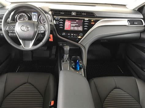 interior camry 2018 new 2018 toyota camry se 4 door car in kelowna bc 8ca7584