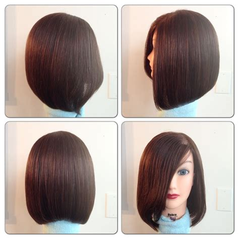 triangle one length bob with 7 best images about triangular one length on pinterest