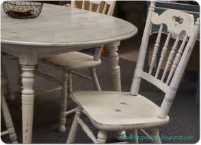 Distressed White Kitchen Table Doodle Bug White Grey Distressed Table Chairs