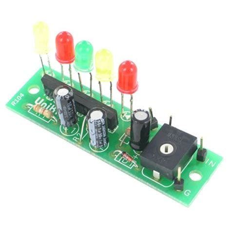Led Vu Meter Kit 5 led vu meter