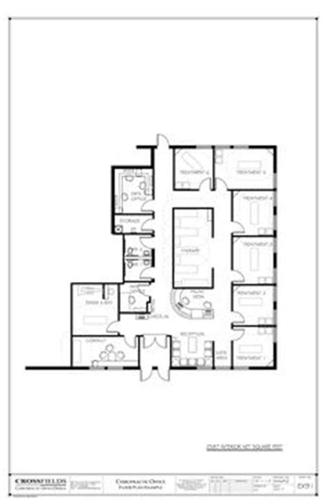 exle of chiropractic office floor plan multi doctor chiropractor office floorplan with therapy and massage