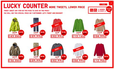 uniqlo new year promotion mei uniqlo retail clothing