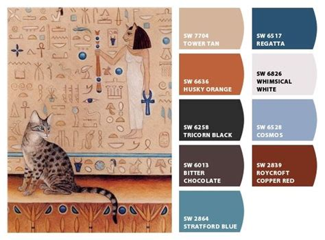 mau cat print temple mennefer by eyedeas chip it by sherwin williams
