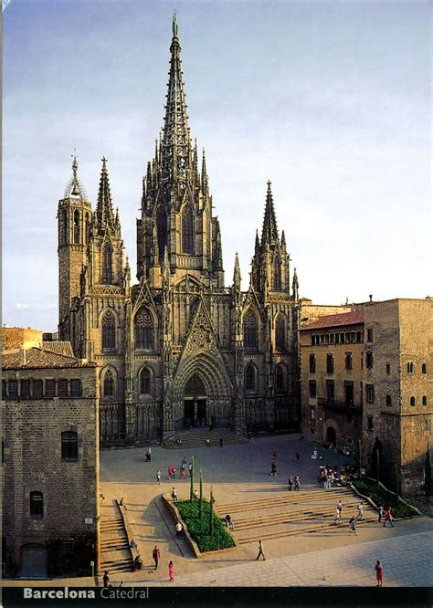 barcelona cathedral world come to my home 0298 0469 spain catalonia